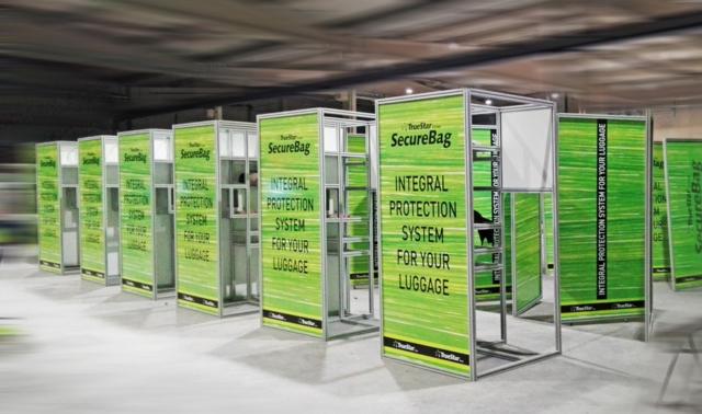 joyfer impresión digital decoración maquinaria embalaje aeropuerto