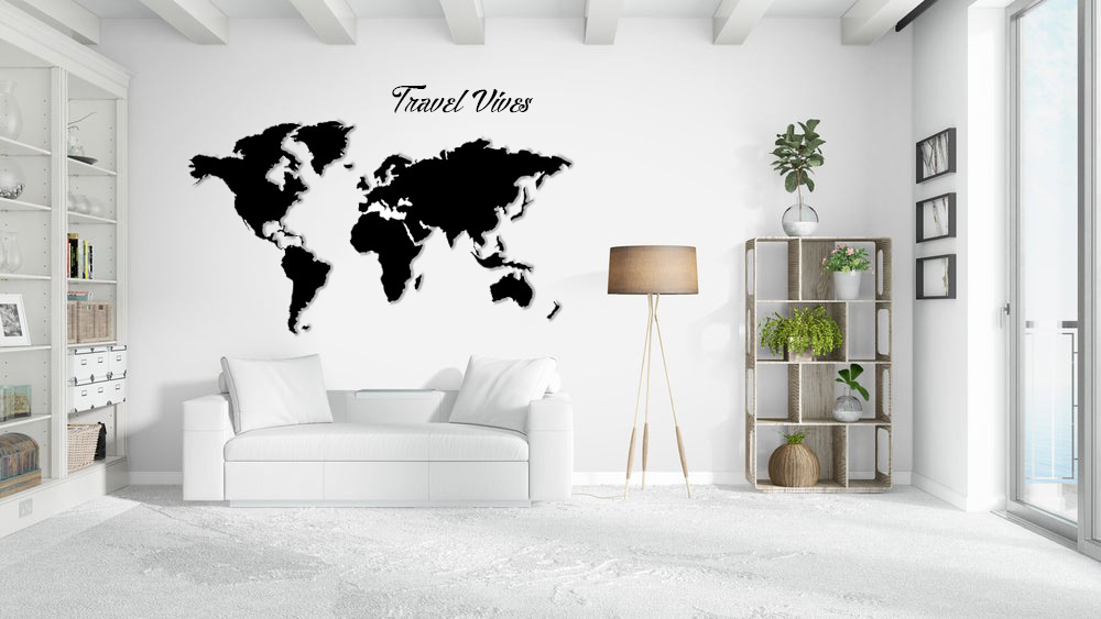 joyfer mapa corporeo con relieve pared y frase vinilo