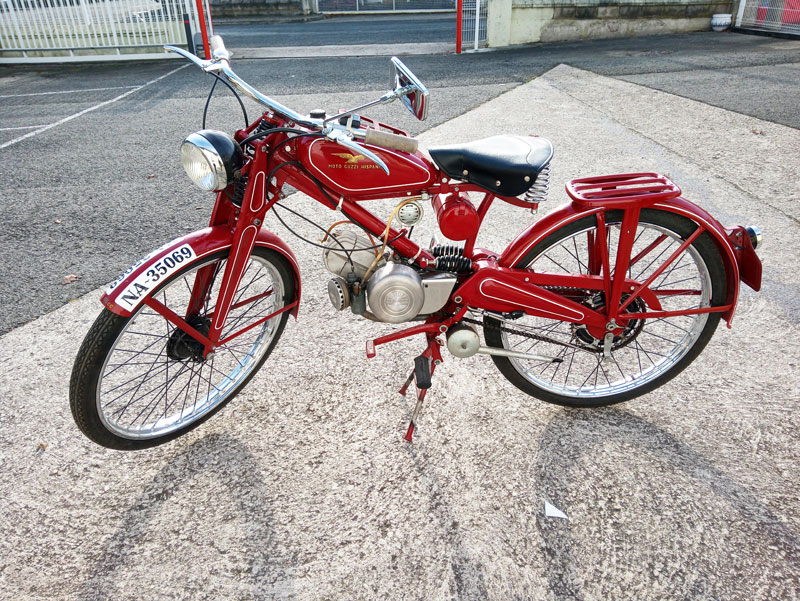 Joyfer - Rotulación vehículos - moto antigua