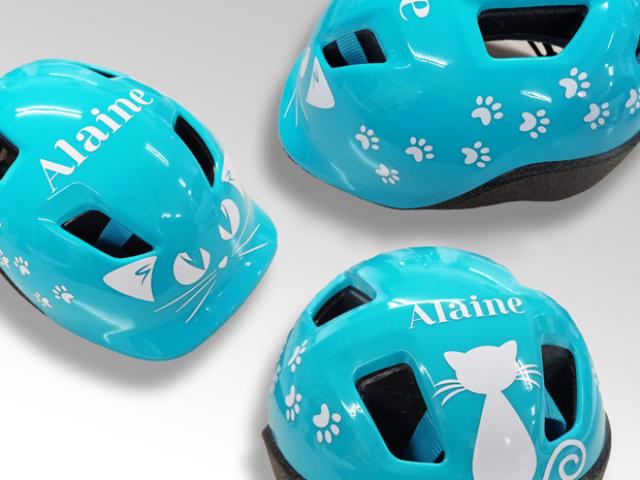 Joyfer - Rotulación vehículos - bicicleta - restauración adhesivos bicis casco infantil
